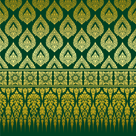 Thai Ornament Background