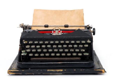 typewriter: Máquina de escribir Foto de archivo
