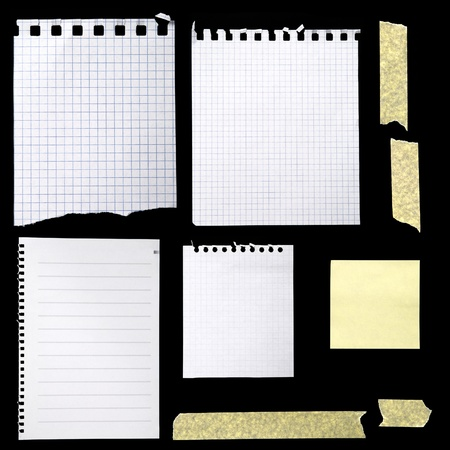 blank newspaper: Pieces of paper