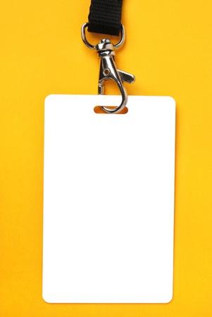 backstage: Blank badge
