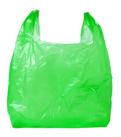 plastic: Plastic bag Stock Photo