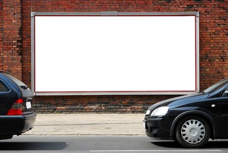 Billboard auf der Straße