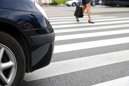 Zebra crossing  Stock Photo - 10556488