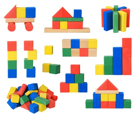 Wooden blocks  photo
