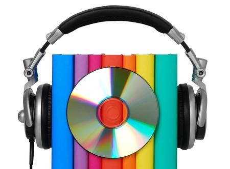Concept de livre audio Banque d'images