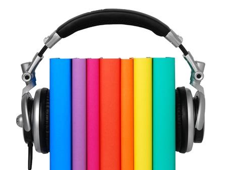 audio book: Audio book Stock Photo