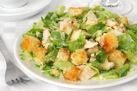 croutons: Caesar salad