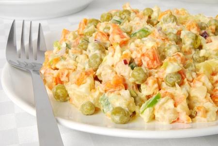 huzarensalade: Groente salade