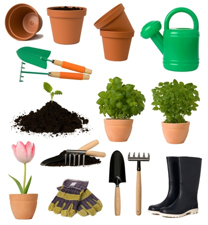 Gardening collection Stock Photo - 10769477