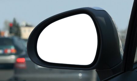 Left side rear view mirror  Stock Photo - 10865505