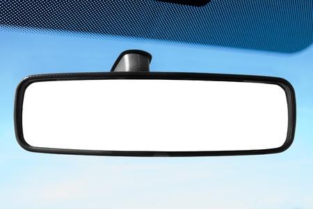 rear view mirror: Espejo retrovisor Foto de archivo