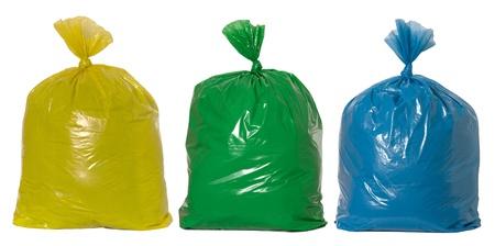 �garbage: Reciclaje de basura Foto de archivo