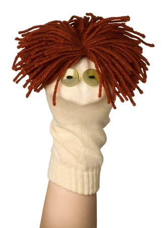 Funny puppet Stock Photo - 10864942