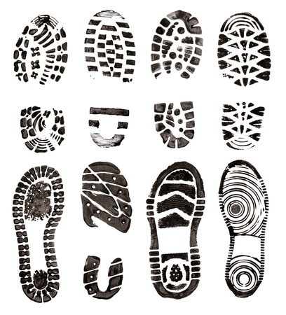 Shoes prints Stock Photo - 10865482