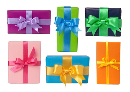 birthday present: Colorful gifts