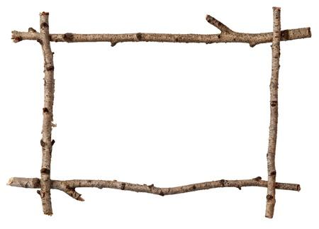 Brindille cadre Banque d'images