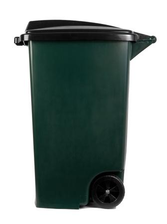 botes de basura: Basura bin Foto de archivo