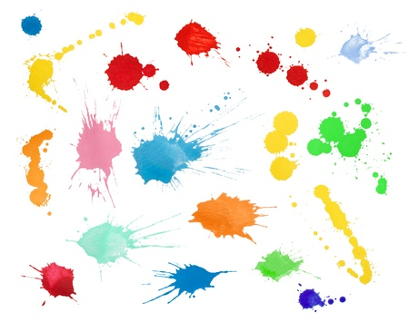 Blots collection Stock Photo - 10865181