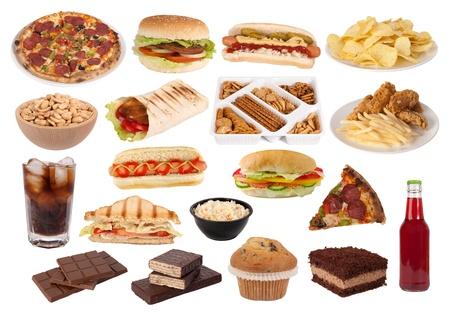 perro caliente: La comida r�pida y snacks colecci�n