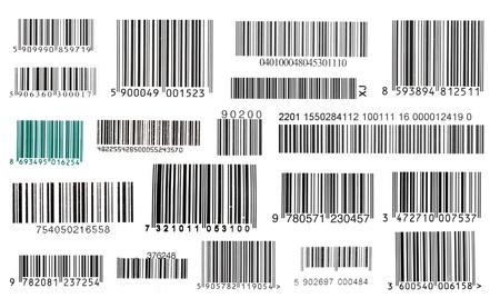 bar code: Bar codes  Stock Photo