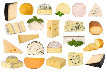 Cheese collection  Standard-Bild