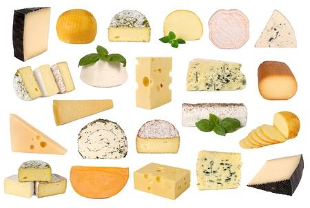 queso: Queso colecci�n Foto de archivo