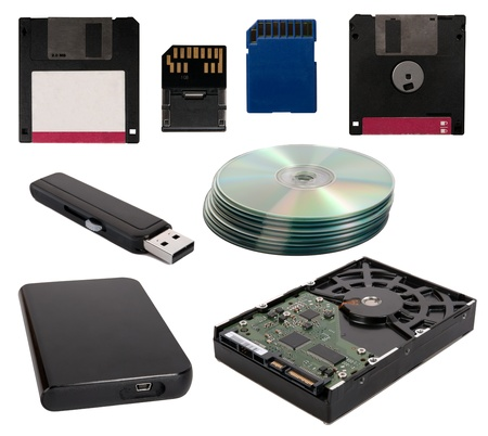 Data storage devices photo