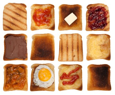 jam sandwich: Toasts collection