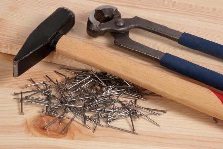 refurbishing: Hammer and nails