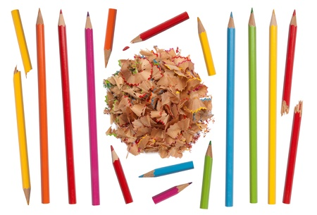 Colorful pencils collection  photo