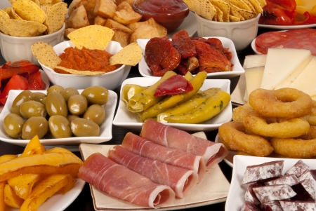 spanish food: Spanish tapas