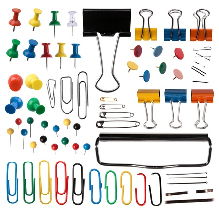 paperclip: Pins and paper clips collection