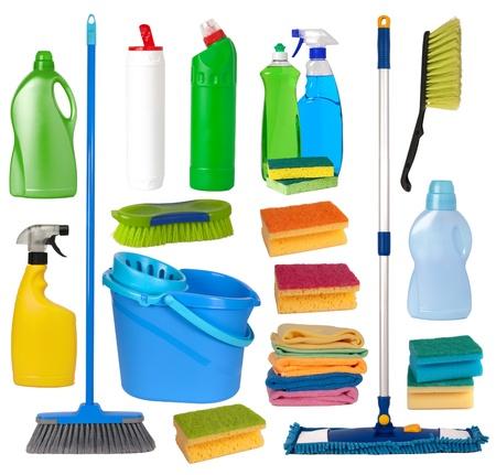 �quipement de nettoyage et d'entretien Banque d'images