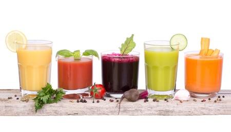 jugo verde: Variedad vegetal jugo