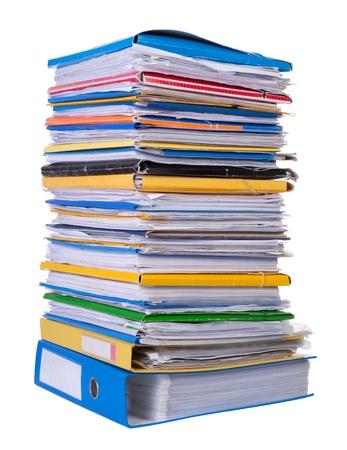 Big Papierstapel