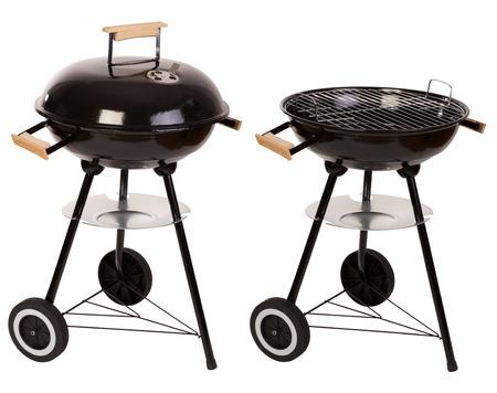 Barbecue isolato su bianco Archivio Fotografico - 32751100