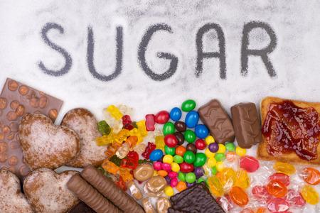 aussi: Les aliments contenant du sucre. Trop de sucre dans le r�gime alimentaire provoque l'ob�sit�, le diab�te et d'autres probl�mes de sant�
