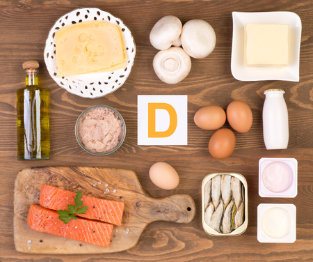 Vitamin D containing foods