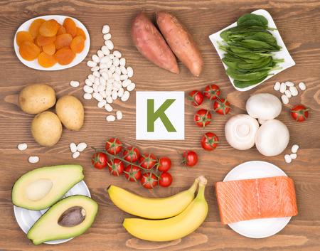 Potassium containing foods