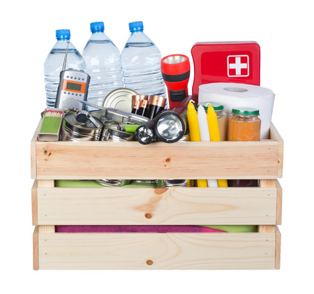 Objects useful in emergency situations such as natural disasters Reklamní fotografie
