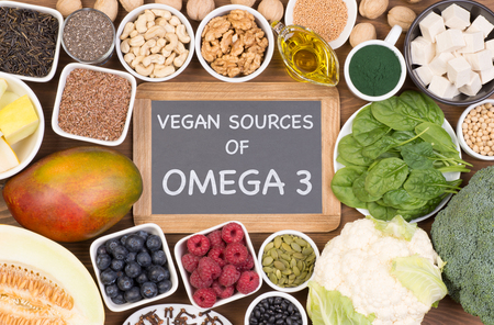 Vegan sources of Omega 3 fatty acids