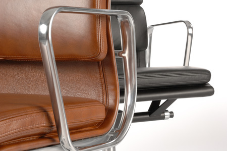 detail of an office chair photo