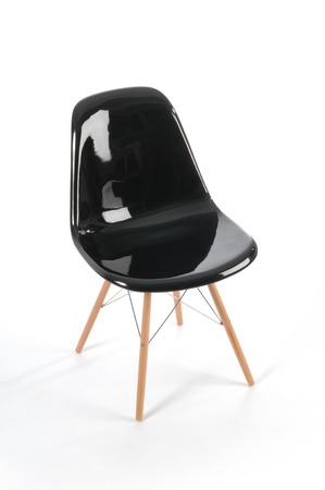 sixties fiber chair Stok Fotoğraf