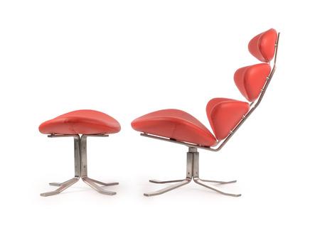 xx century: side view modern corona chair