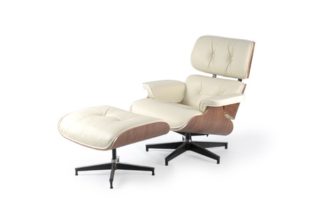 side view of a lounge chair Imagens