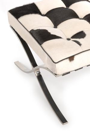 detail of a barcelona chair 版權商用圖片