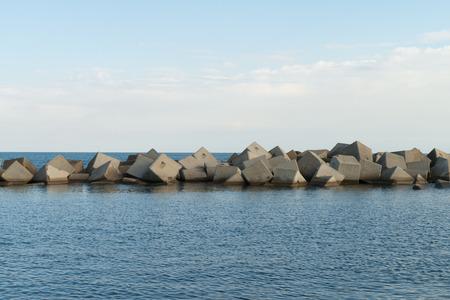breakwater: espig�n puerto foro y piscina natural