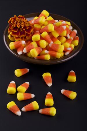 corn flower: Halloween candies