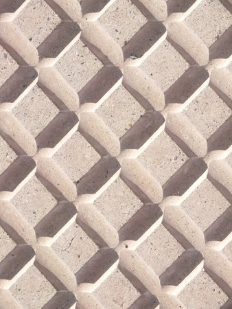 sidelit: A pavement tile as background