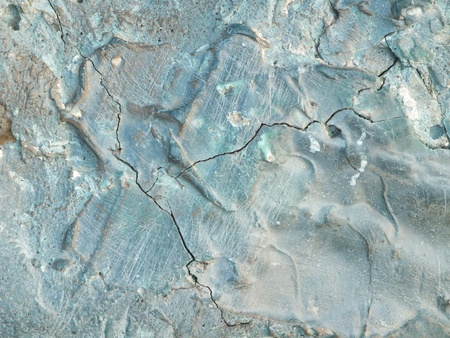 patina: Uneven bronze surface with patina - to be used as background Stock Photo